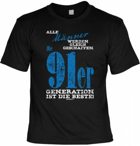 T-shirt-hommes 91er génération est la meilleure-Cadeau Anniversaire 26.