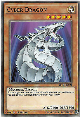 Ancient Dragon YS15-ENY08 Common Yu-Gi-Oh Card Mint 1st Edition New