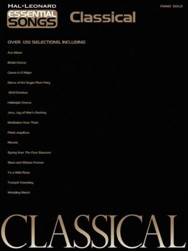 Essential Songs Classical Sheet Music Piano Solo SongBook NEW 000311925