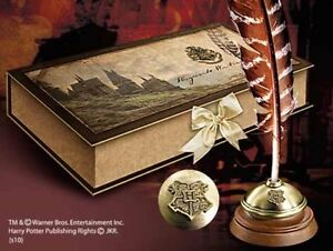 Noble Collection Harry Potter - Hogwarts Writing Quill ...Harry Potter Quill And Ink Set