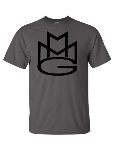 MAYBACH MUSIC GROUP MMG mens T shirt Rick Ross Wale Meek Mills Multi-Color