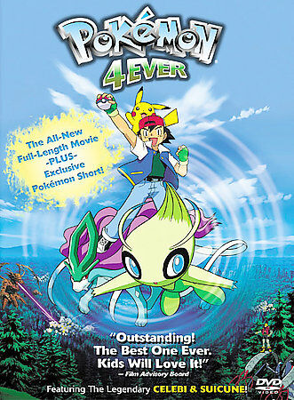 Pokemon 4ever Dvd 2003 For Sale Online Ebay
