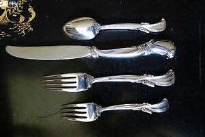 Dinner Fork Wallace Waltz of Spring Sterling Silver Place Setting Piece