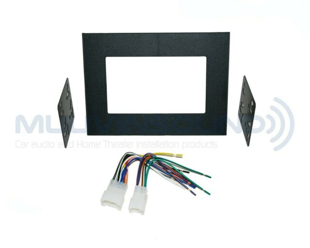 Radio Stereo Mounting Installation Dash Kit Combo 2DIN + Wire Harness on