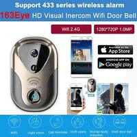 Wifi Video Camera Door Bell Phone Wireless Doorbell Intercom Support Android Ios