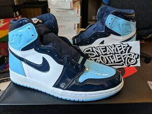 Nike Women S Air Jordan I 1 High Og Chill Blue Obsidian White Black Cd0461 401 Ebay