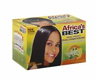 Africa's Best Dual Conditioning Relaxer System, Super, No-lye 1 Ea (pack Of 6)