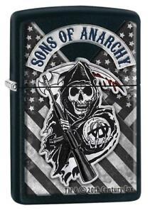 ZIPPO-BENZINA-ACCENDINO-Sons of Anarchy ™ - 60005533-Novità 2020 - 2021