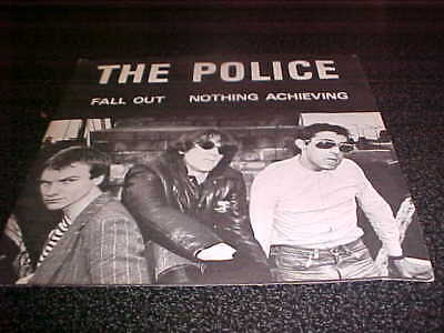 The Police 45 Fall Out Nothing Achieving Illegal Records
