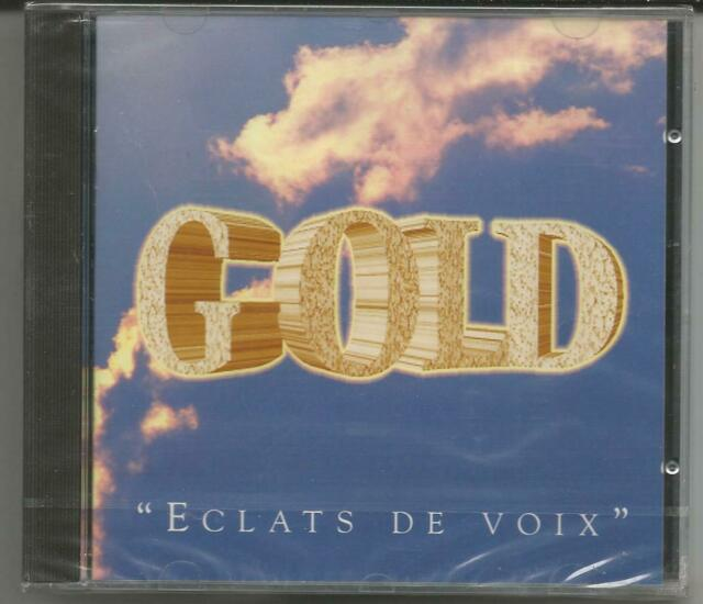 "GOLD ""Eclats de Voix"" CD 1994 WMD/France NEU/OVP/NEW/NEUF"