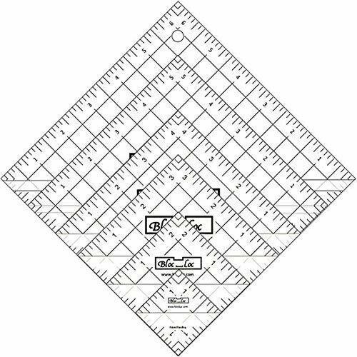 Bloc Loc Half Square Triangle Ruler Set 1