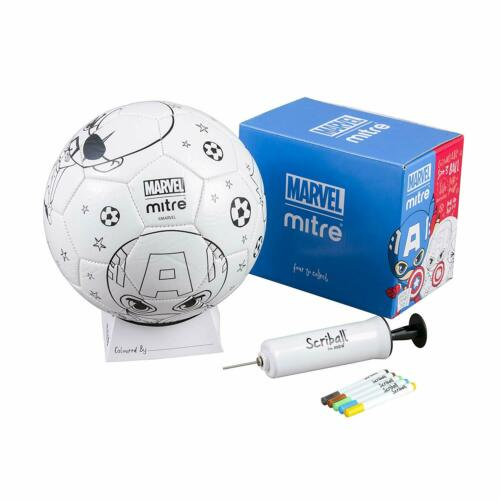 Mitre Marvel Avengers scriball personalisable Football avec Coloration Stylos