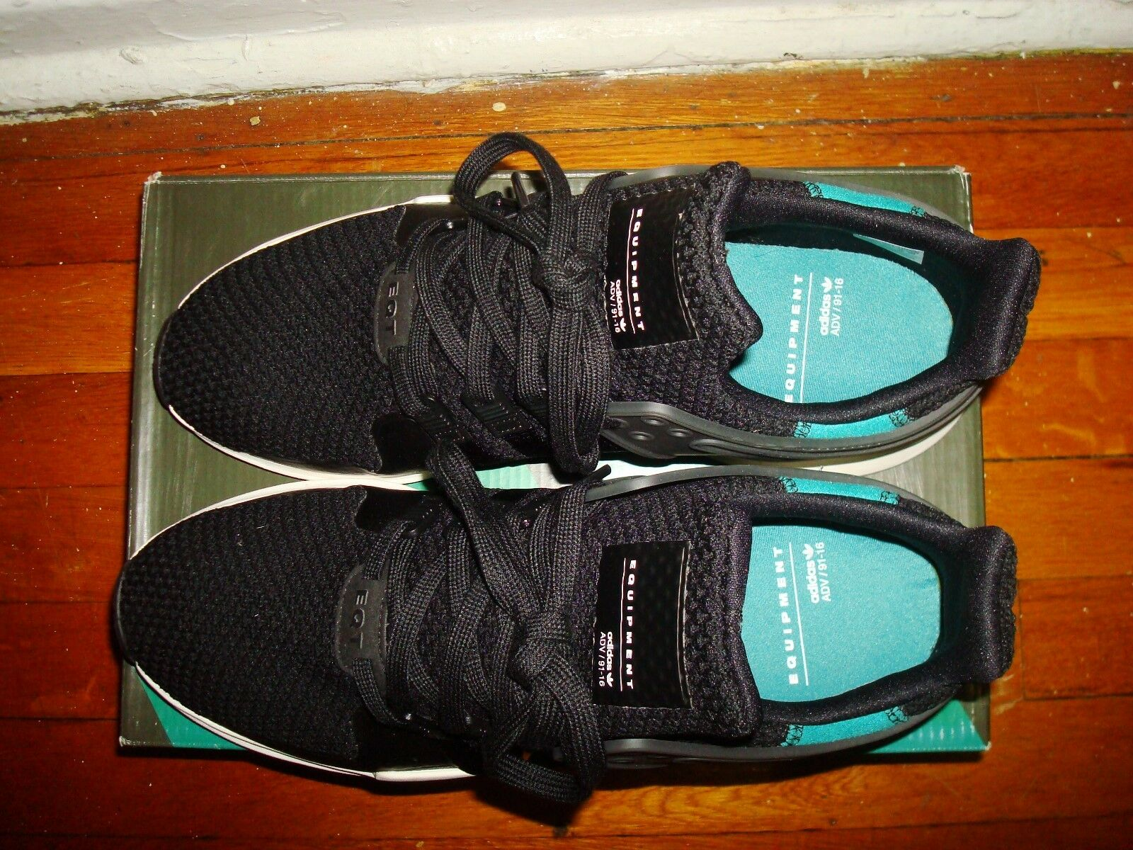Adidas Equipment Support ADV scarpe da ginnastica    US11  nero-verde-bianca  BA8323 ccd0e8