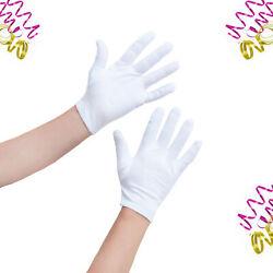 Weiße Handschuhe für Damen