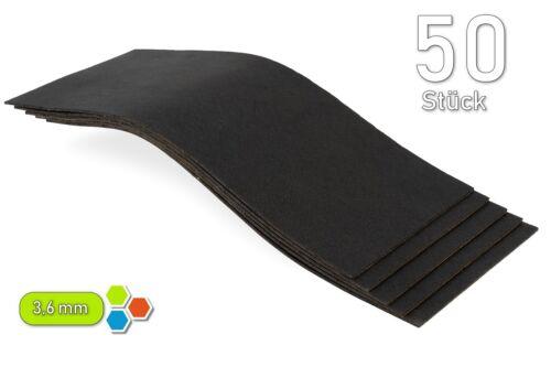 50 betún 250 x 100 x 3,6 mm Hi-End aislamiento dämmmatten 1,25m² mejor precio-b3620
