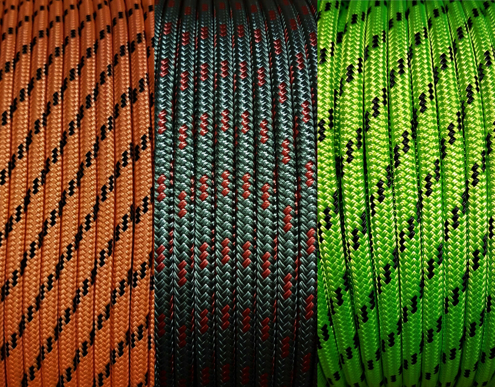 Polyester Braid on Braid rope Double Braid mono colors Boat Yacht Marine