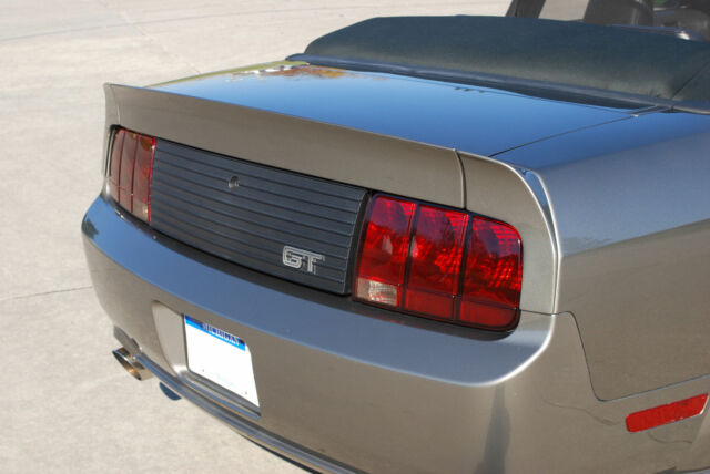 2005-2009 Ford Mustang Decklid Trim Panel with GT Logo - Classic Design Concepts