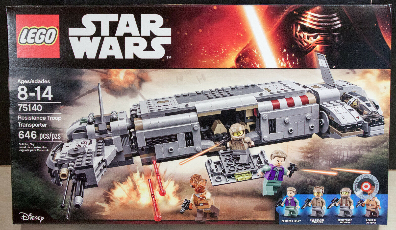 LEGO Star Wars Resistance Troop Transporter  75140  Nuovo Sealed Box
