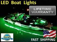 Fish & Ski Pontoon Boat Led Light Kit Universal Lighting Part Fits Any Pontoon