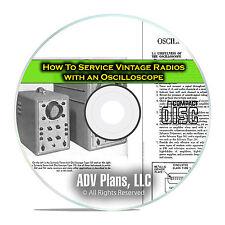 Servicing Vintage Tube Radios with Oscilloscopes, Sylvania Book, CD DVD E32
