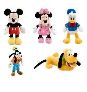308b4e2c47638 NEW Disney Store Mickey Mouse Minnie Mouse Donald Duck Goofy   Pluto ...