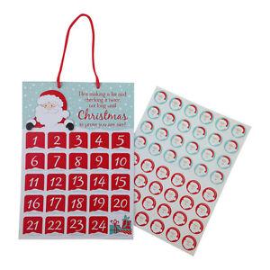 Calendario Adviento Infantil.Detalles De Infantil Navidad Tabla De Recompensas Calendario Adviento Vacaciones Pegatinas