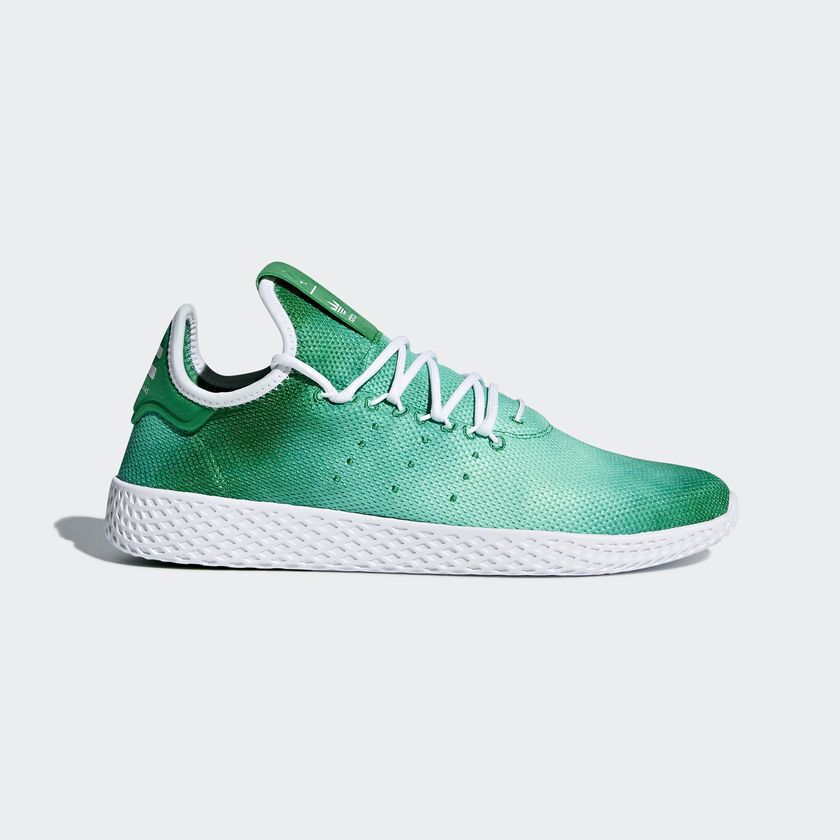 Adidas Original Tennis Hu  Pharrell Williams  NEW AUTHENTIC Green Cloud DA9619