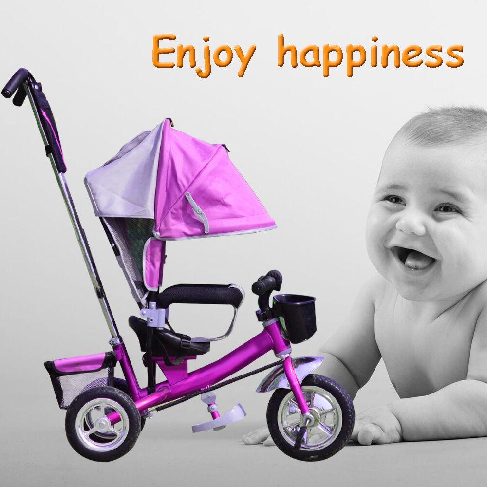 dreirad pram kinder kinderdreirad schubstange fahrrad baby. Black Bedroom Furniture Sets. Home Design Ideas