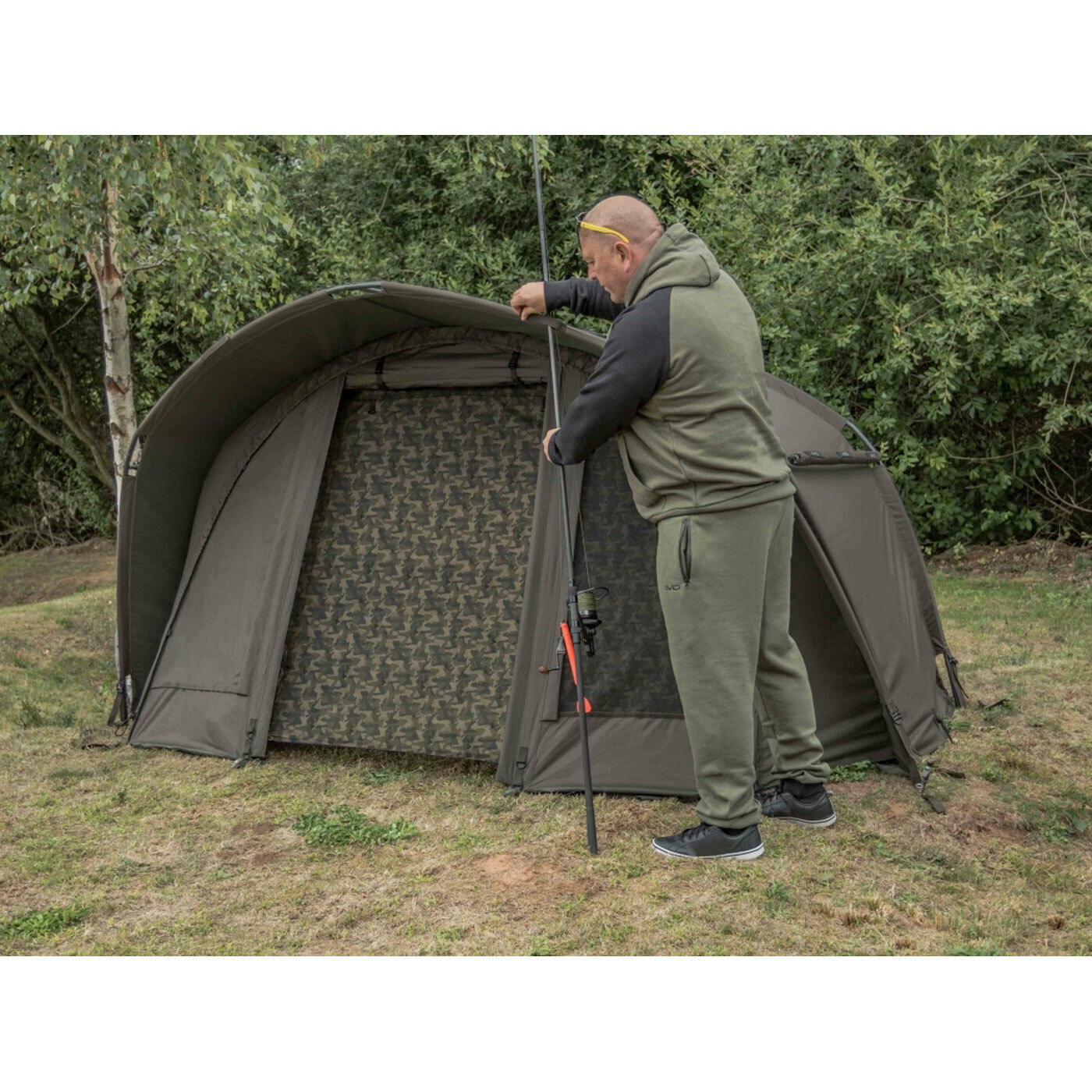 Avid HQ Dual Layer Bivvy - One Man New 2019 - Free Delivery
