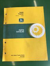 John Deere 2040 Tractor Parts Manual Catalog List Book Pc4150
