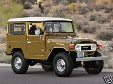 1977 Toyota LAND CRUISER FJ40, Jeep, Front Angle, Refrigerator Magnet, 40 MIL