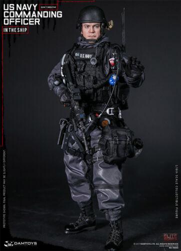 DAMTOYS DAM 78050 1//6th US Navy Commanding Officer Male Action Figure