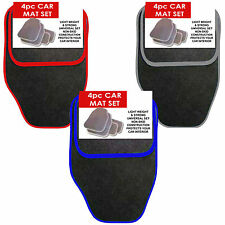 4 Piece Non Slip Carpet Car Mats