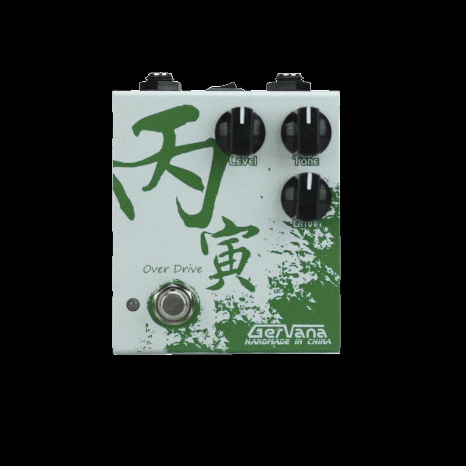 Gervana Bing Yin Hand-wirot Guitar Overdrive Pedal