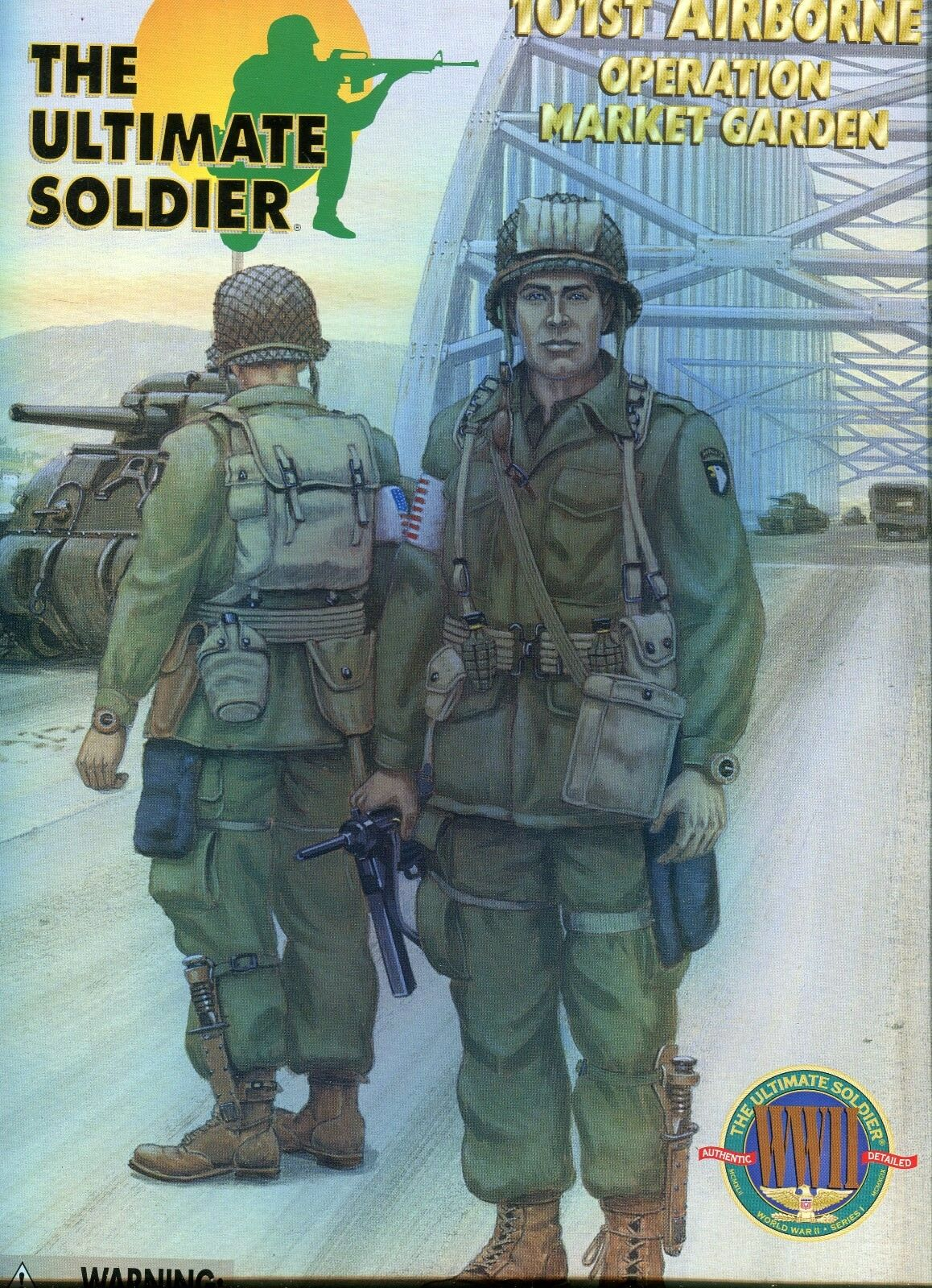 WW2  US 101 Airborne Div Market Garden 1/6  21st Century