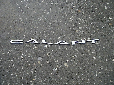 "OEM Mitsubishi ""Galant"" Rear Trunk letters Emblem badge decal nameplate logo"