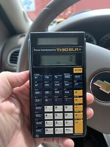 Texas-Instruments-TI-30SLR-Scientific-Calculator-Tested-It-Works-Solar-Powered