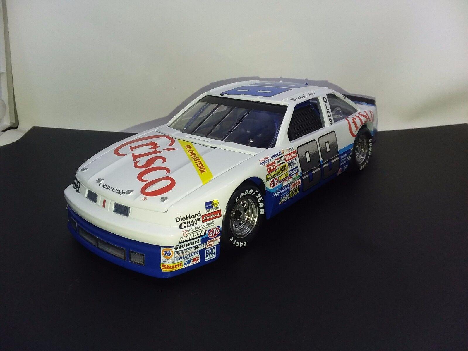bienvenido a comprar Raro 1987 Buddy Baker NASCoche NASCoche NASCoche Winston Cup Series  88 Crisco 1 24 Diecast Olds  soporte minorista mayorista