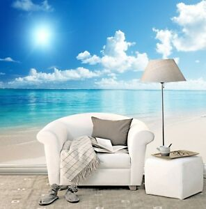 Huge-3D-White-Sea-Blue-Cloud-Wall-Paper-Wall-Print-Decal-Wall-Deco-Indoor-Wall