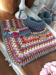Handmade Luxury Alpaca And Wool Crochet Poncho Childs Kids Ebay