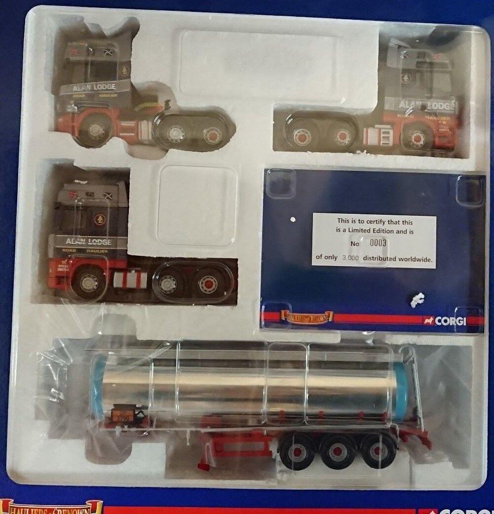 Corgi CC99164 Alan Lodge Transport samlaors Set Ltd Edition No. 0003 of 3000