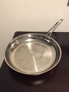 Cuisinart Stainless Steel 10 Saut 201 Pan Model 722 24 Ebay