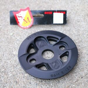 S-amp-M-BMX-BIKE-X-MAN-GUARD-BICYCLE-SPROCKET-BLACK-25T-OR-28T-MADE-IN-USA-FIT-CULT