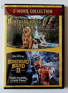 Homeward-Bound-I-amp-II-Disney-Live-Action-Animal-Dog-Movies-2-Film-Collection-DVD