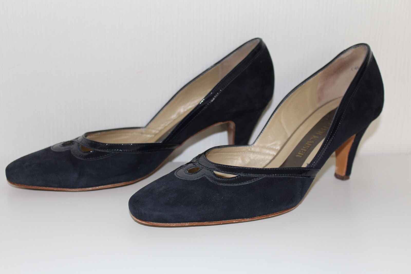 Peter Kaiser Damen SCHUHE PUMPS Größe 37 Wildleder Echtleder leather SHOES HEELS