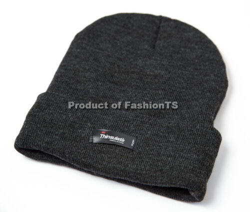 Original 3M Thinsulate Knitted Winter Hat 40gram Thermal Insulation Warm Unisex