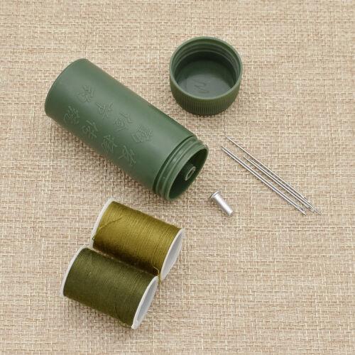 Mini Nadel Faden Rohr Set Reise Tragbarer Bandspule Nähen Nähetui DIY Handarbeit