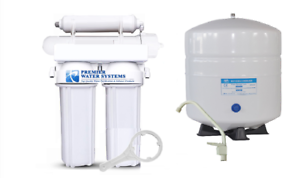 OCEANIC Reverse Osmosis Water Filter System 4 Stage   50 GPD RO MADE IN USA