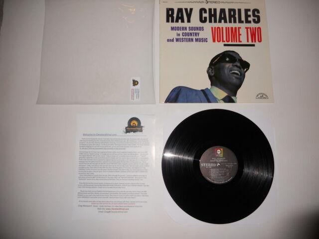 Ray Charles Country & Western 2 ABC 1970 USA Analog VG++ Ultrasonic CLEAN