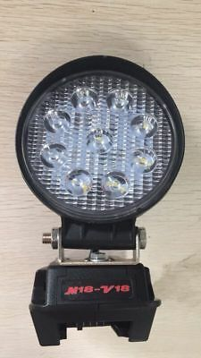 Milwaukee M18 to V18 Adapter LED Light Work Light Flood Light Spot Light Torch